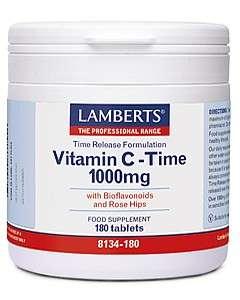 vitamin c nahrungserg nzungsmittel kaufen lamberts healthcare ltd vitamin c time release 1000. Black Bedroom Furniture Sets. Home Design Ideas