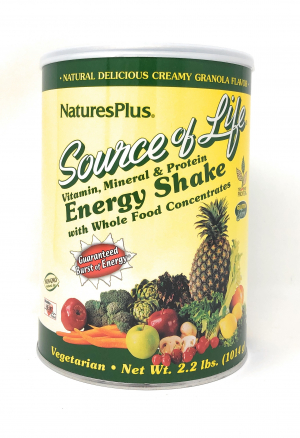 Natures Plus Source of Life® Energy Shake 1015g (2.2 lb.) Pulver (1015g)