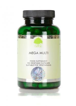 G&G Vitamins MEGA MULTI 90 veg. Kapseln (56,1g)(vegan)