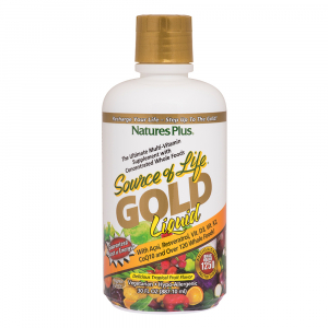 Natures Plus Source of Life GOLD Liquid Flasche 887 ml