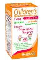 HealthAid Children MultiVitamin + Minerals (Tutty-Fruity Geschmack) 30 Kautabletten