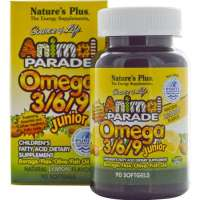 Nature's Plus Animal Parade® Omega 3/6/9 Junior 90 Softgels