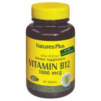 Natures Plus Vitamin B-12 (Methycobalamin) 1000mcg 90 Tabletten (71,5g)