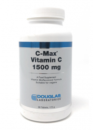 Douglas Laboratories Europe C-Max® Vitamin C 1500mg 90 Tabletten S/R (172g)(vegan)