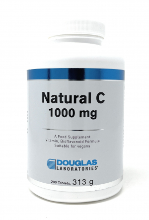Douglas Laboratories Europe Natural C 1000 mg 200 Tabletten (313g)