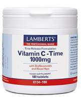 Lamberts Healthcare Ltd. Vitamin C Time Release 1000 mg 180 Tabletten
