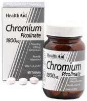 Chromium Picolinate 200mcg (Chrompicolinat) 60 Tabletten HA (vegan)