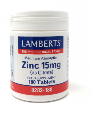 Lamberts Zinc [Zink] 15mg (as Citrate) 180 Tabletten