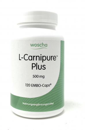 woscha L-Carnipur Plus (L-Carnitin 500mg) 120 Embo-CAPS® (vegan)(114g)