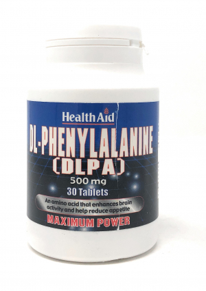 HealthAid DL-Phenylalanine (DLPA) 500mg 30 Tabletten