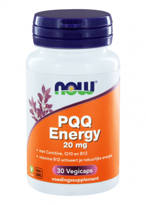 NOW Foods PQQ (Pyrrolochinolinchinon) Energy 30 veg. Kapseln