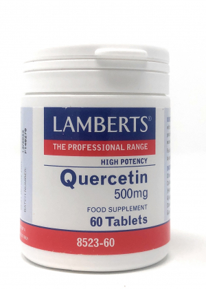 Lamberts Healthcare Ltd. Quercetin 500 mg 60 Tabletten