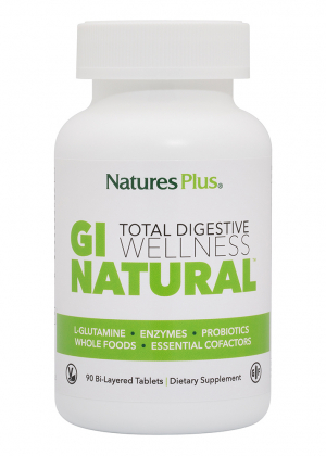 Natures Plus GI Natural™ Total Digestive Wellness 90 Tabletten