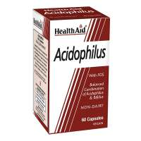 Health Aid Acidophilus (with FOS) 60 veg. Kapseln (vegan)