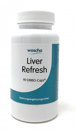 woscha Liver Refresh 90 Embo-Caps (48g) (vegan)