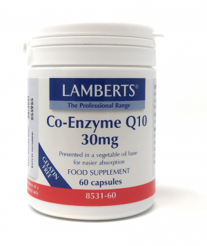 Lamberts Healthcare Co-Enzyme Q10 30mg 60 veg. Kapseln