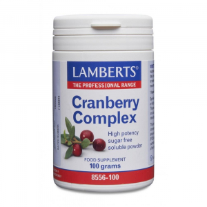 Lamberts Healthcare Ltd. Cranberry Complex Powder 100g Pulver