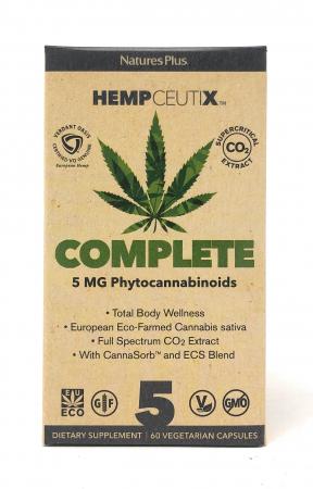 Natures Plus HempCeutix Complete 5 60 veg. Kapseln