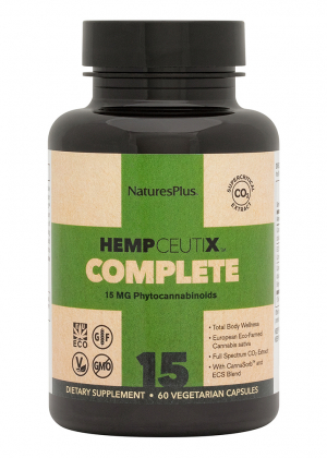 Natures Plus HempCeutix Complete 15 60 veg. Kapseln
