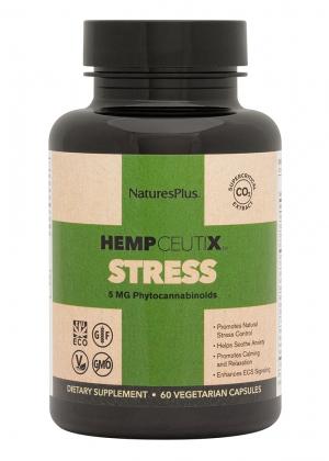 Natures Plus HempCeutix Stress 60 veg. Kapseln