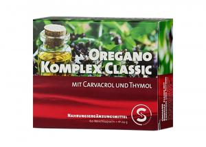 Supplementa Oregano Complex Classic Oreganoöl 60 Softgels (24g)