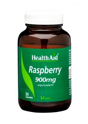 HealthAid Raspberry [Himbeere] 900mg equivalent 30 veg. Kapseln (vegan)
