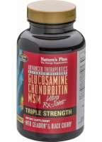Natures Plus Triple Strength Ultra Rx-Joint® Glucosamine / Chondroitin / MSM w/Celadrin® & Cherry 120 Tabletten (210,8g)