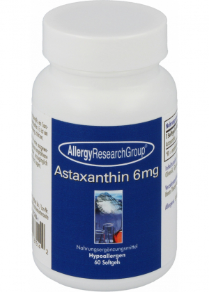 Allergy Research Group Astaxanthin 6mg 60 Softgels