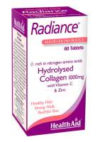 HealthAid Radiance® (Hydrolysed Collagen 1000mg with Vit C) 60 Tabletten