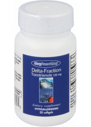 Allergy Research Group Delta-Fraction Tocotrienols 125mg 30 Softgels