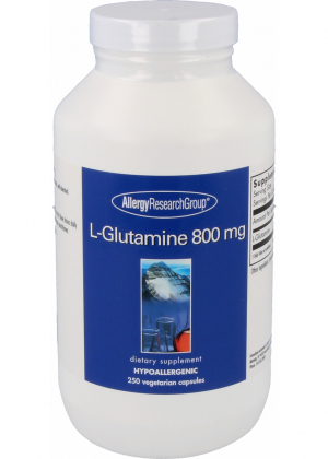 Allergy Research L-Glutamine 800mg 250 Kapseln