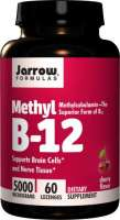 Jarrow METHYL B12 5000mcg 60 Lutschtabletten (vegan)